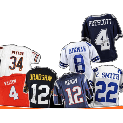 17 Leaf Autographed Football Jersey Edition