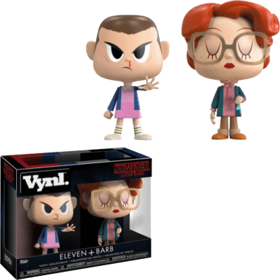 Vynl. Figure Stranger Things Eleven + Barb