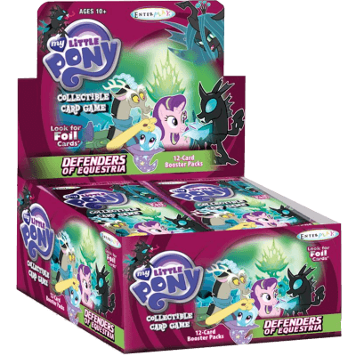 My Little Pony Booster #8 Defenders of Equestria Display Box