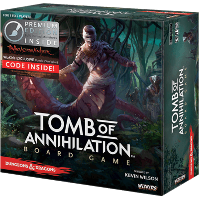 D&D Tomb of Annihilation Premium Edition Board Game