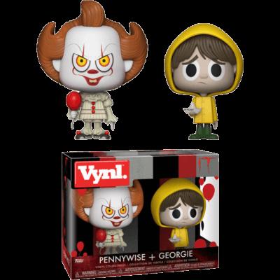 Vynl. Figure It Pennywise + Georgie