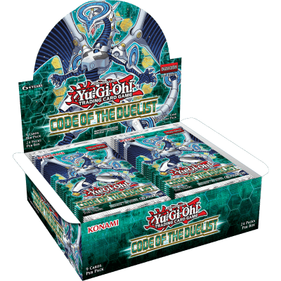 Yu-Gi-Oh Code of the Duelist Booster Display Box