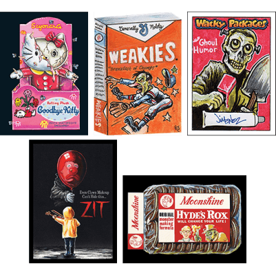 Topps Wacky Packages Go to the Movies Collector's Edition