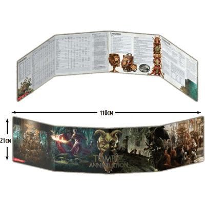 Dungeons & Dragons 5th Edition Dungeon Master Screen Tomb of Annihilation