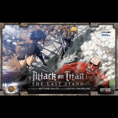 Attack on Titan The Last Stand Board Game