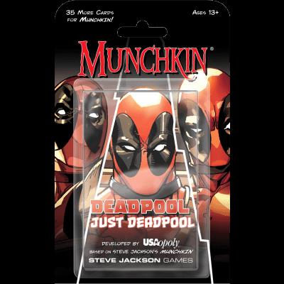 Munchkin Deadpool Just Deadpool