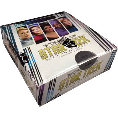 Star Trek Women of 50th Anniversary Trading Cards